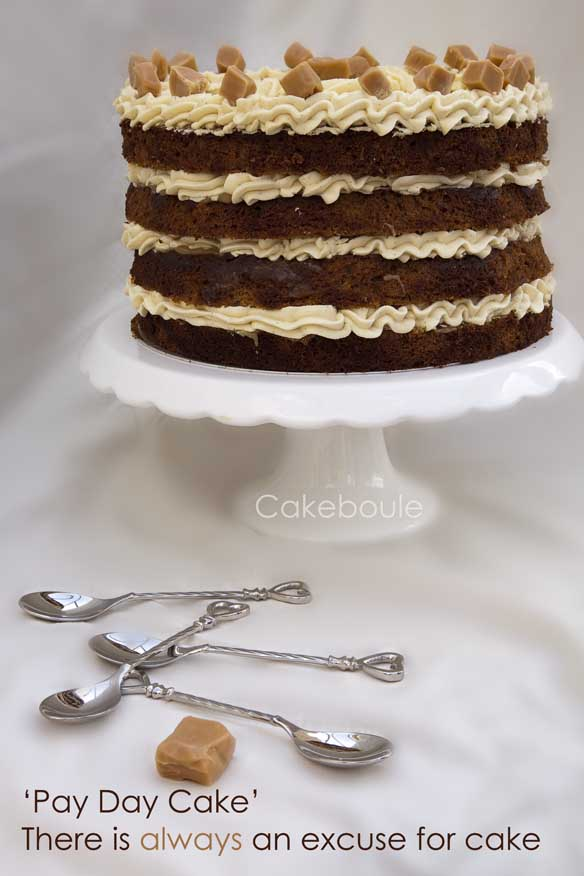 Sticky Toffee Pudding Cake by Cakeboule
